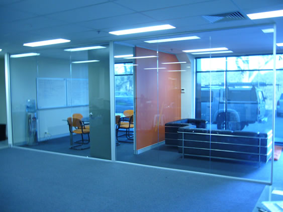 Office fiouts & glass partitions by Fitout pty ltd
